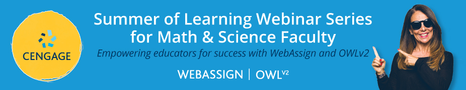 Summer of Learning Webinar Series for Math & Science Faculty