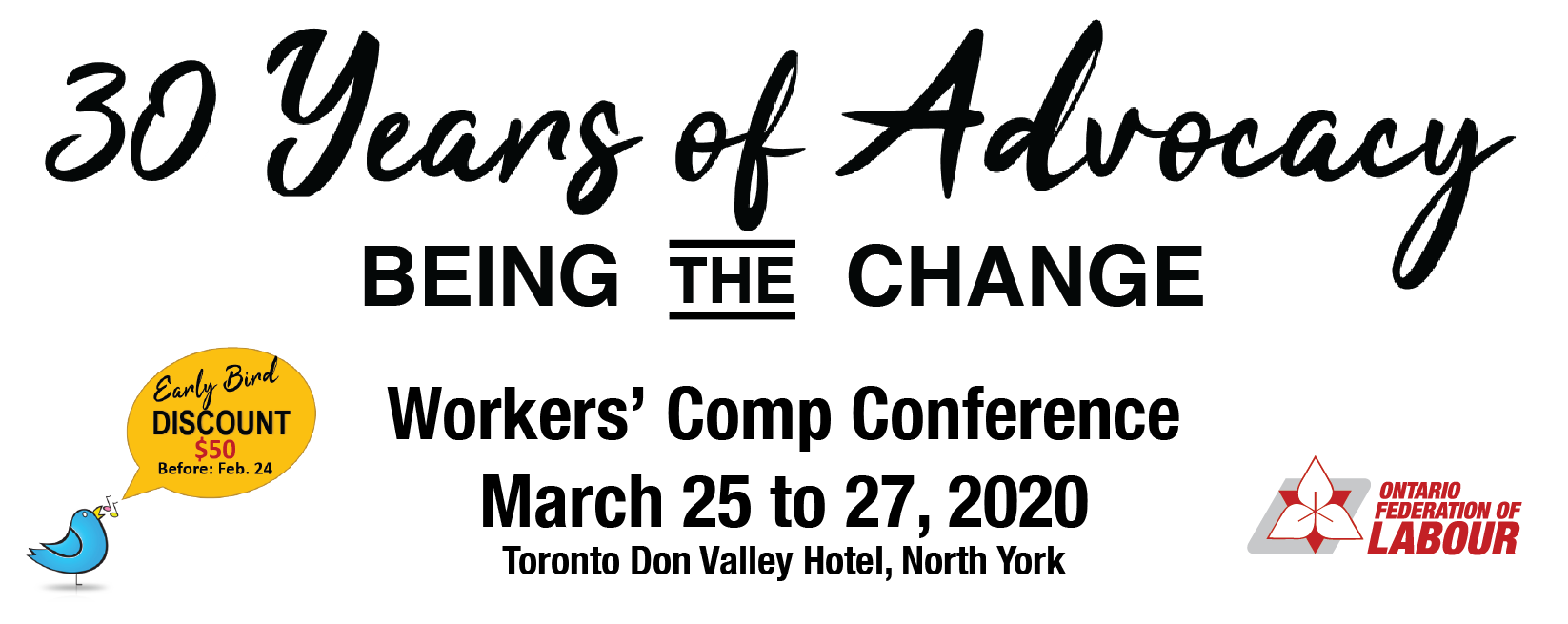 30 Years of Advocacy: Being the Change