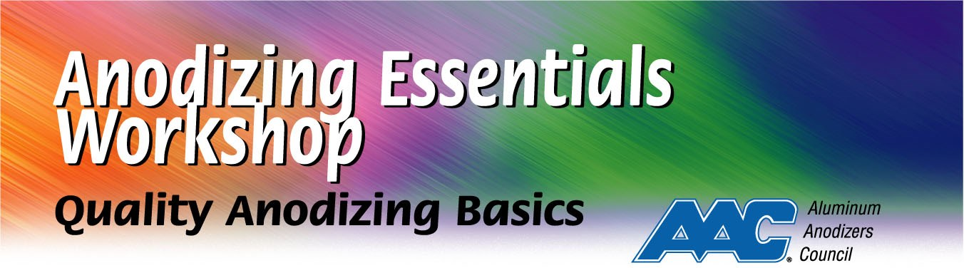Anodizing Essentials Workshop