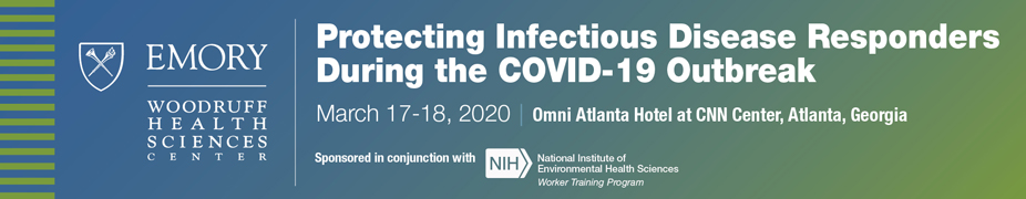 Protecting Infectious Disease Responders During the COVID-19 Outbreak