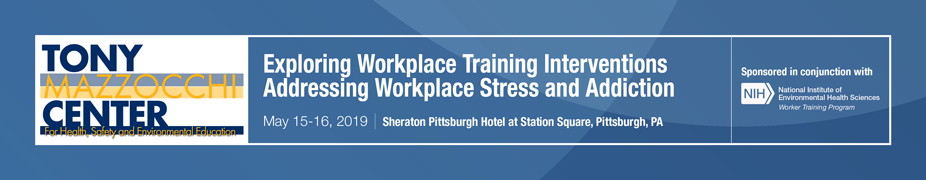 Exploring Workplace Training Interventions Addressing Workplace Stress and Addiction sponsor