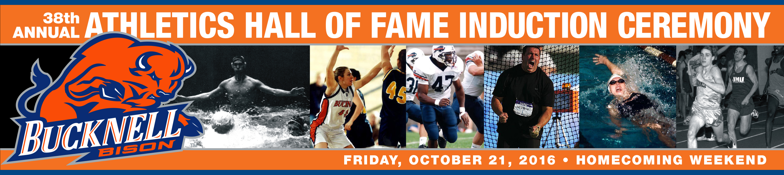 38th Annual Athletics Hall of Fame Induction Ceremony