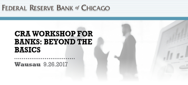 CRA Workshop for Banks: Beyond the Basics
