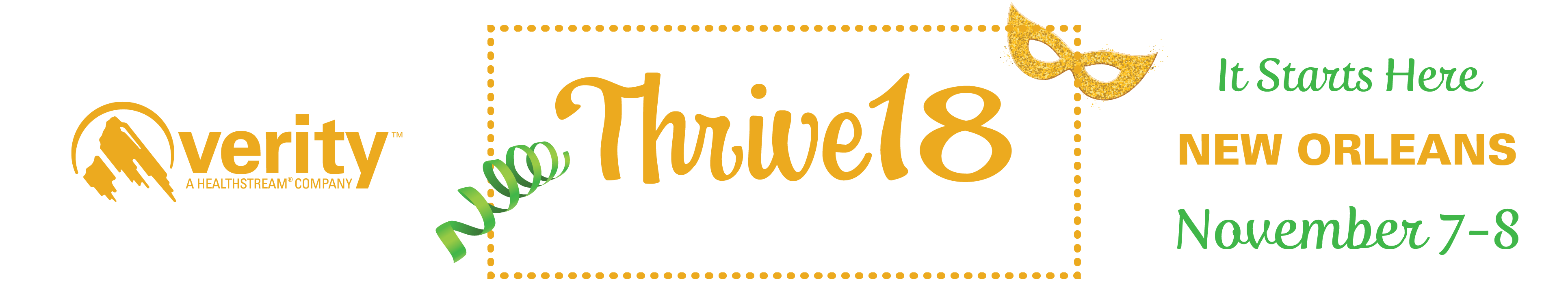 Thrive18 | Verity National User Group Conference