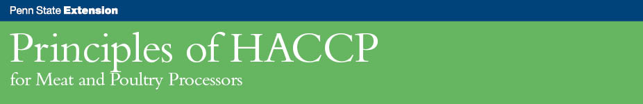 Principles of HACCP for Meat and Poultry Processors - WC