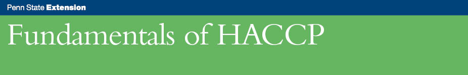 Fundamentals of HACCP