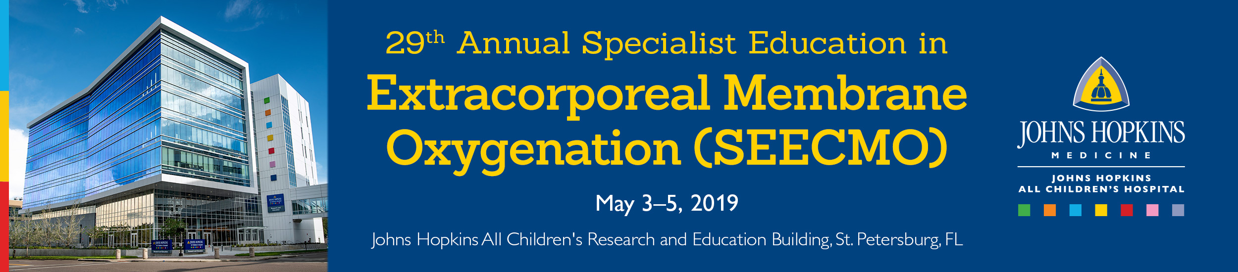 29th Annual Specialist Education in Extracorporeal Membrane Oxygenation
