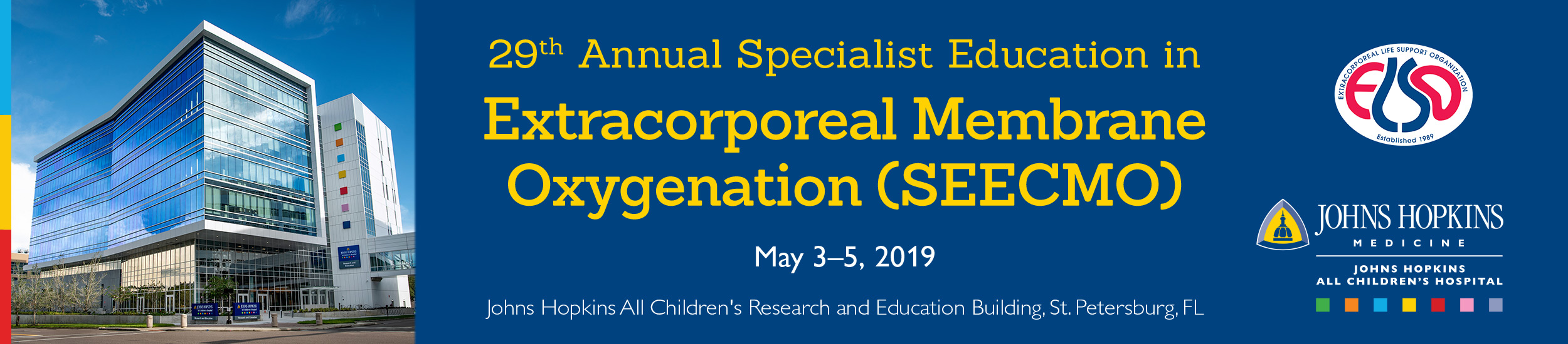 29th Annual Specialist Education in Extracorporeal Membrane Oxygenation (SEECMO)