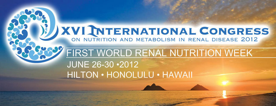 XVI International Conference on Renal Nutrition & Metabolism