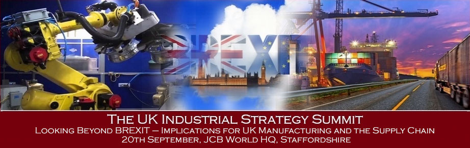 The UK Industrial Strategy Summit 2017