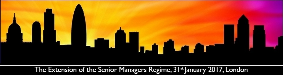 The Extension of the Senior Managers and Certification Regime
