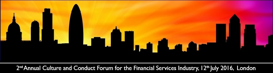 2nd Annual Culture and Conduct Forum for the Financial Services Industry