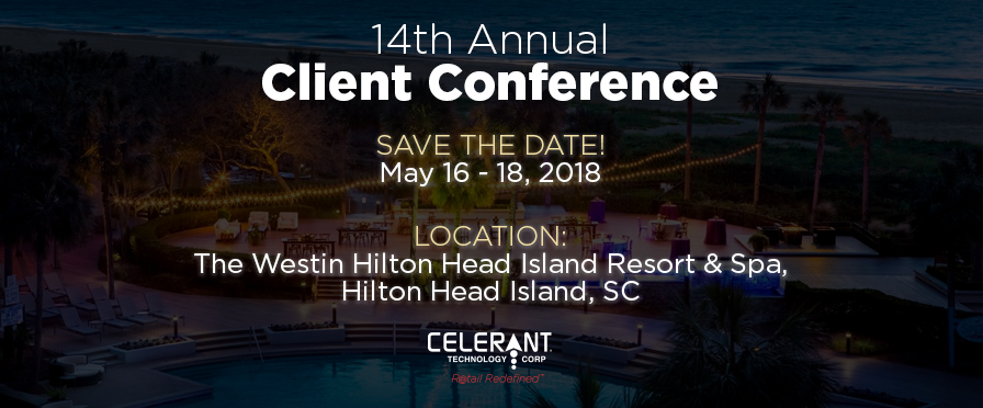 2018 Celerant Technology Annual Client Conference