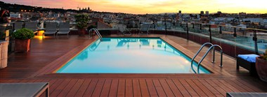Outdoor Pool –On the seventh floor of the hotel