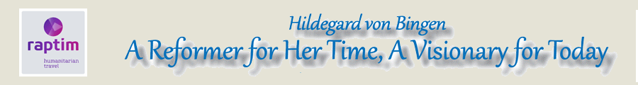 A Reformer for Her Time, A Visionary for Today, Hildegard von Bingen, with Rev. Dr. Kathleen L. Roney & Rev. Dale Selover, September 9–18, 2018