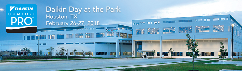 Daikin Day at the Park - February 27, 2018