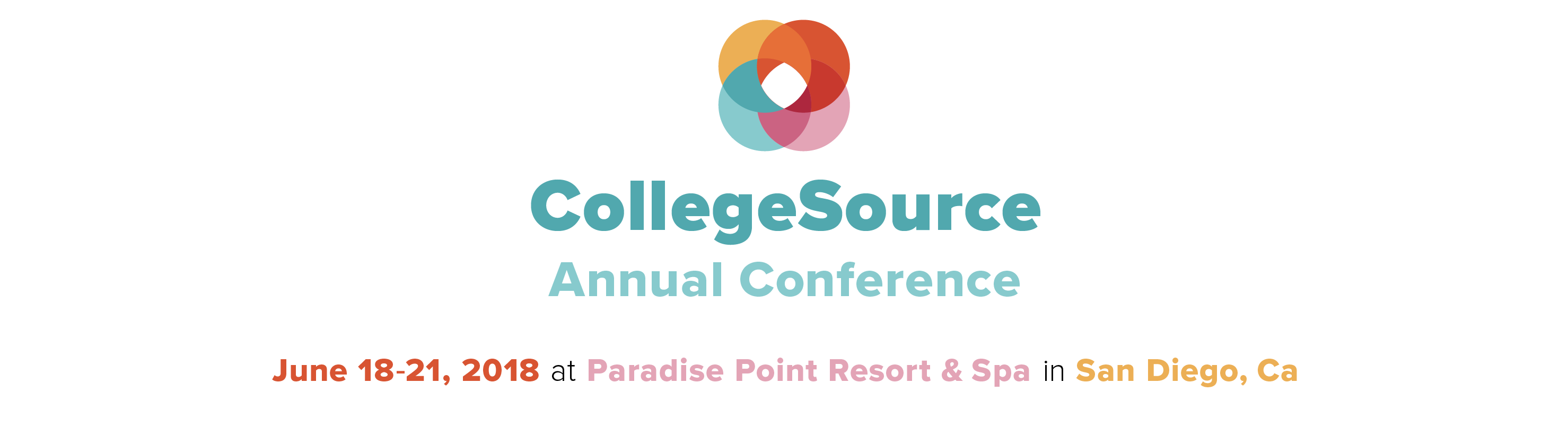 2018 CollegeSource Annual Conference