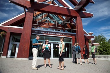 Whistler Conference Centre - Front Entrance