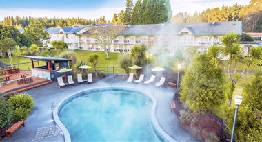 Geothermally Heated Outdoor Pool