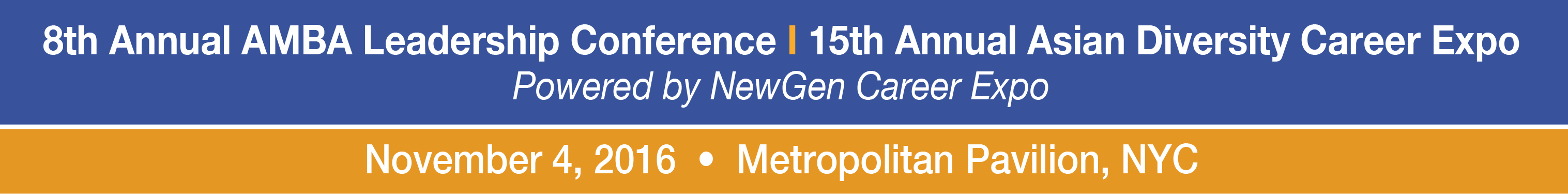 8th Annual Asian MBA Conference (Employer Registration)
