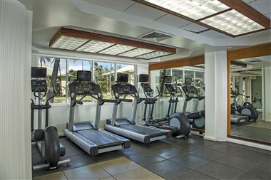 Kauai Beach Resort 24 Hour Fitness Center