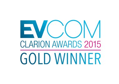 EVCOM CLARION AWARDS 2015 GOLD WINNER