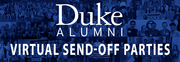"""Forever Duke"" Virtual Send-off Party in Central & Southern New Jersey"