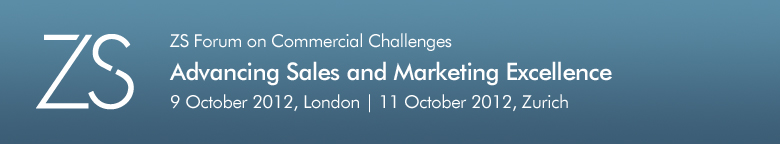 ZS Forum on Commercial Challenges: Advancing Sales and Marketing Excellence