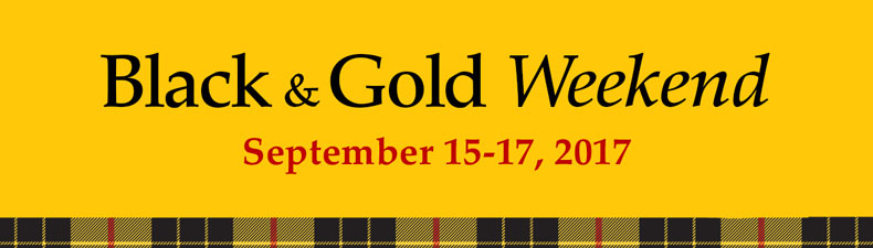 Black & Gold Weekend 2017