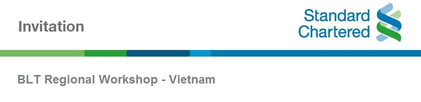 BLT Regional Workshop - Vietnam