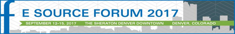 E Source Forum 2017