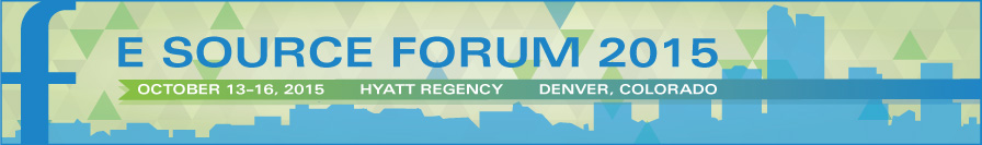 E Source Forum 2015