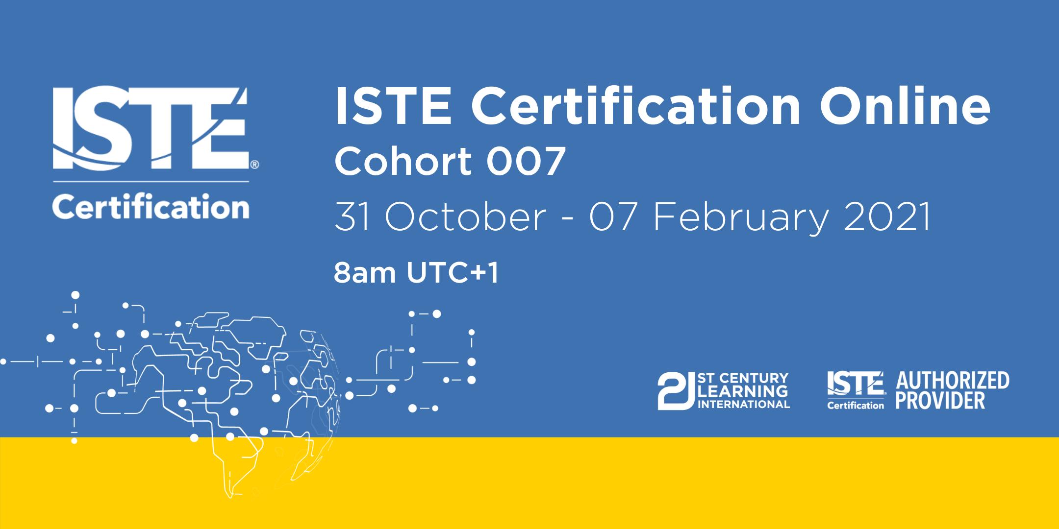 ISTE Certified Educator - Cohort 007