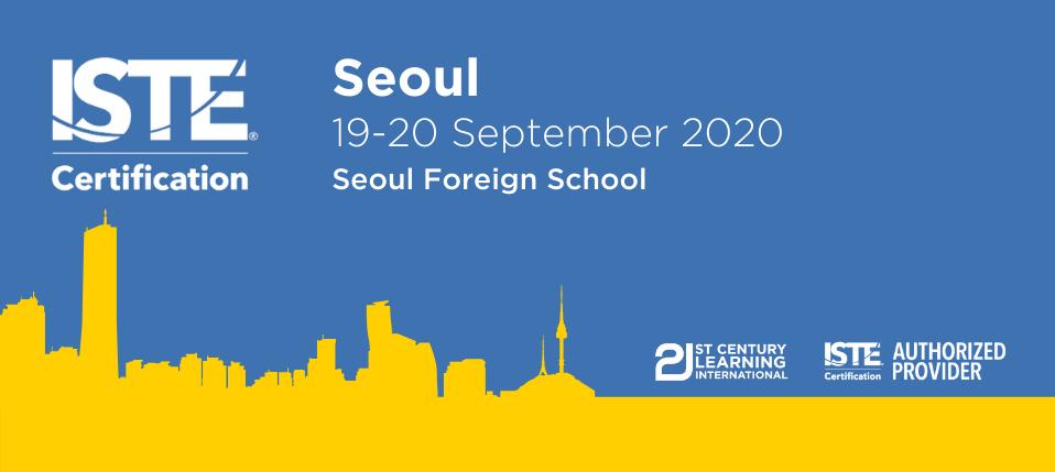 ISTE Certified Educator - Seoul