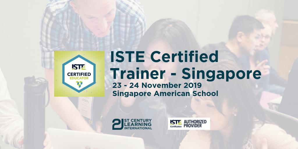 ISTE Certified Educator - Singapore