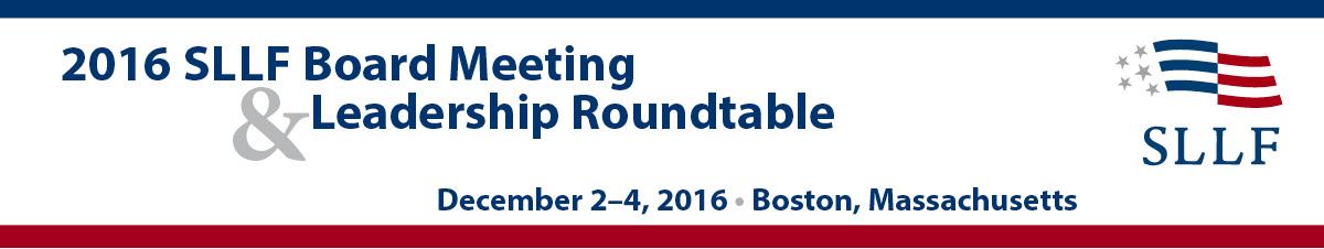 2016 Board Meeting header