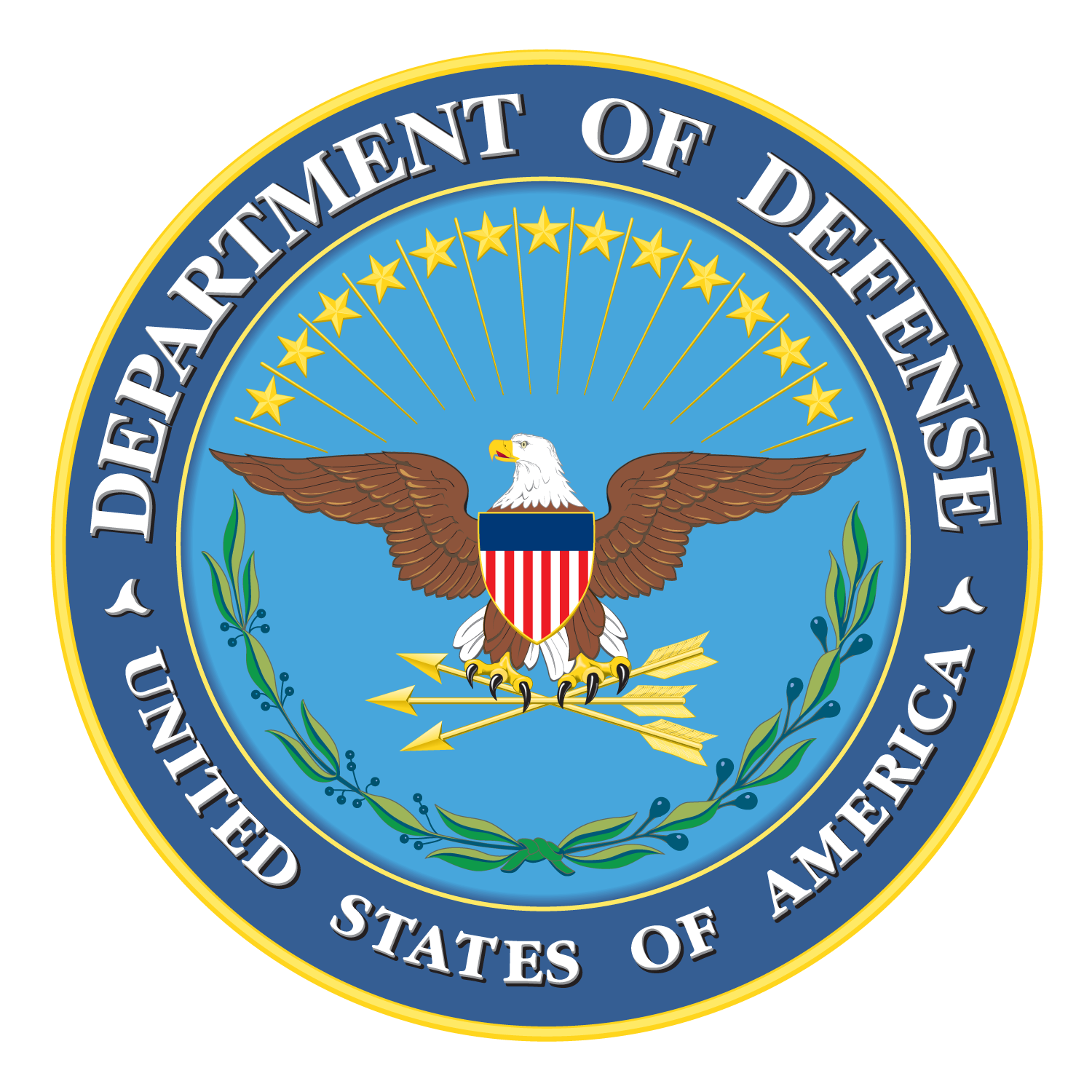 DoD Seal 5in
