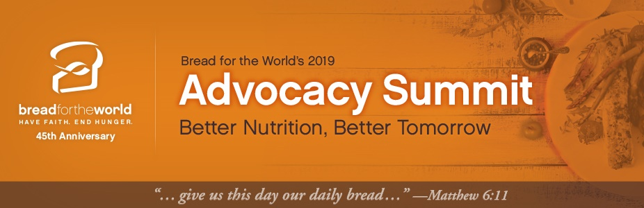 Bread for the World 2019 Advocacy Summit