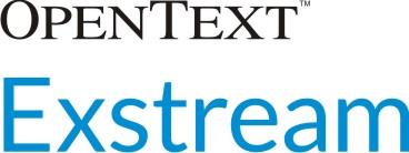 OpenText Exstream 090716