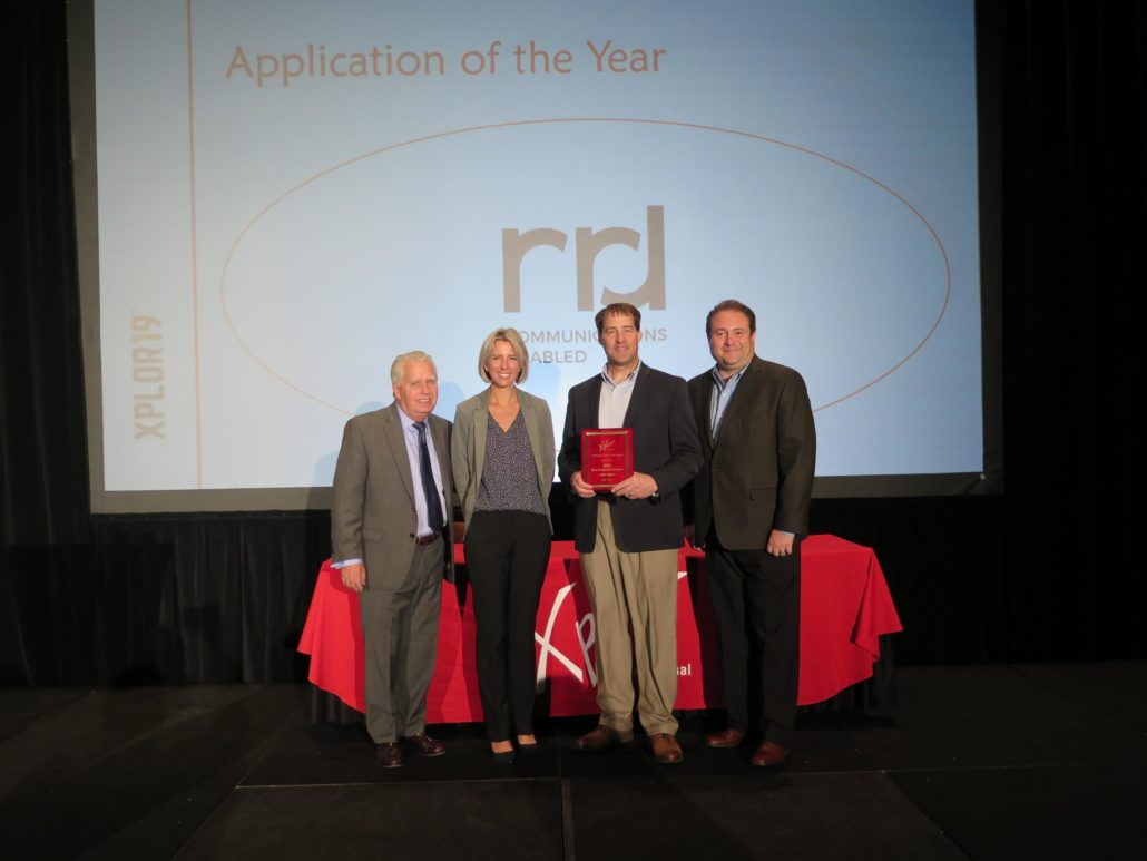 X19 Awards - Application of Year
