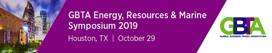 GBTA Energy, Resources & Marine Symposium 2019