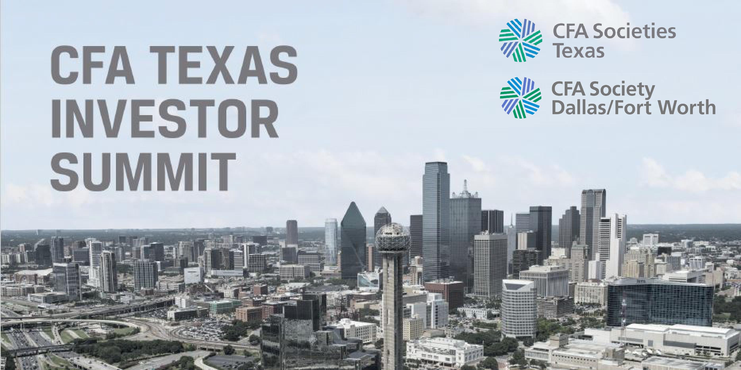 CFA Texas Investor Summit 2018: Forecast Dinner and Symposium