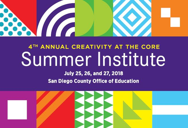 2018 Creativity at the Core Summer Institute