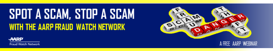 AARP KS, Spot a Scam - Stop a Scam, KS 8-19-2020