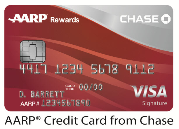 AARP Credit Card from Chase