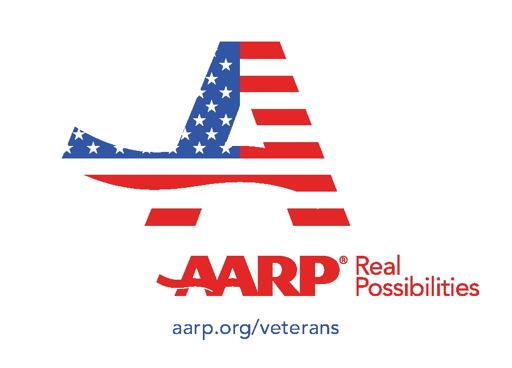 aarp veterans logo