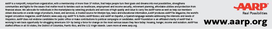 AARP footer 2013