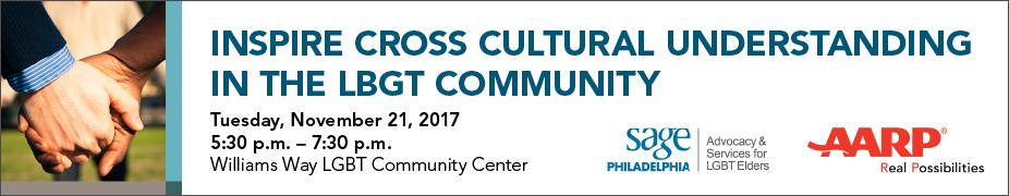 AARP PA & SAGE Community Conversation, Philadelphia, PA 11/21/2017