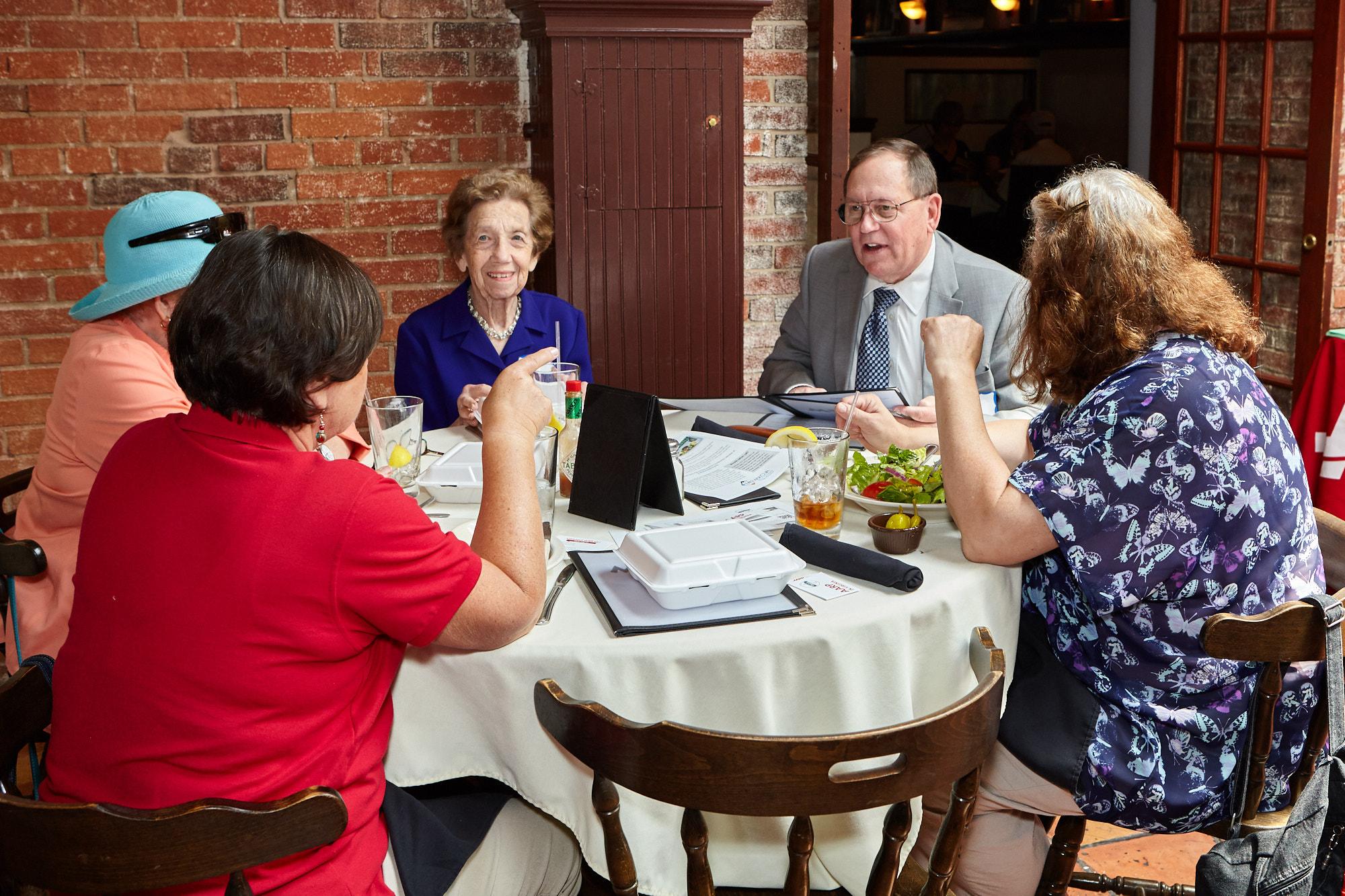 VA Group Lunch Photo
