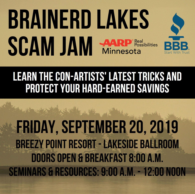Brainerd Lakes Scam Jam Cvent